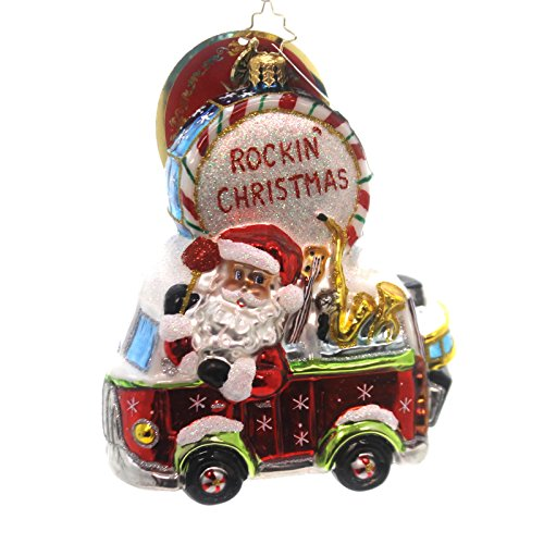 Christopher Radko Making Music Nick Santa Christmas Ornament