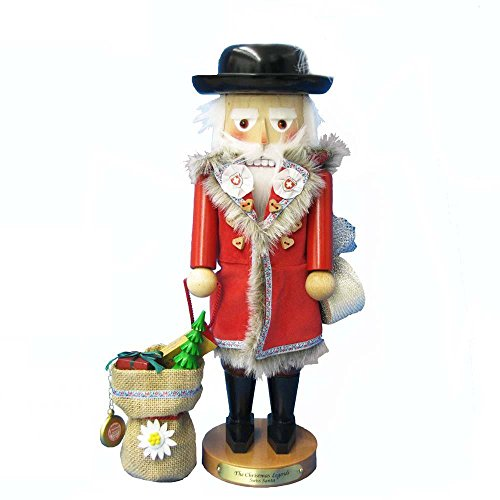17″ Steinbach Christmas Legend Swiss Santa Ltd Edition Signed Musical Nutcracker