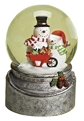 Snowman Snowglobe 6″