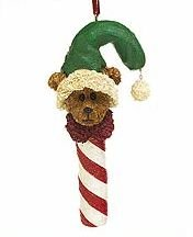Boyds Rufus Dandycane Christmas Ornament #257028 Retired