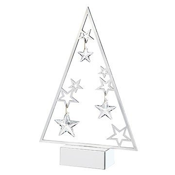 Swarovski Christmas Tree Display and Ornaments