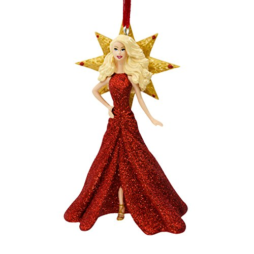 Hallmark Keepsake 2017 Holiday Barbie Christmas Ornament