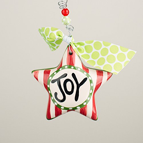 Glory Haus 2990124 Joy Star Puff Ornament