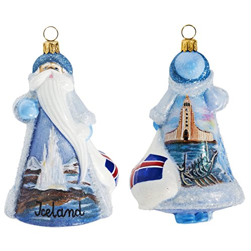 Glitterazzi International Iceland Santa