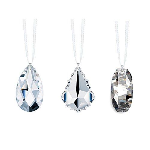 Swarovski Strass Crystal 38mm (1.5″) Prisms 3 Pcs Crystal SunCatcher Rainbow Maker Ornaments Package Deal