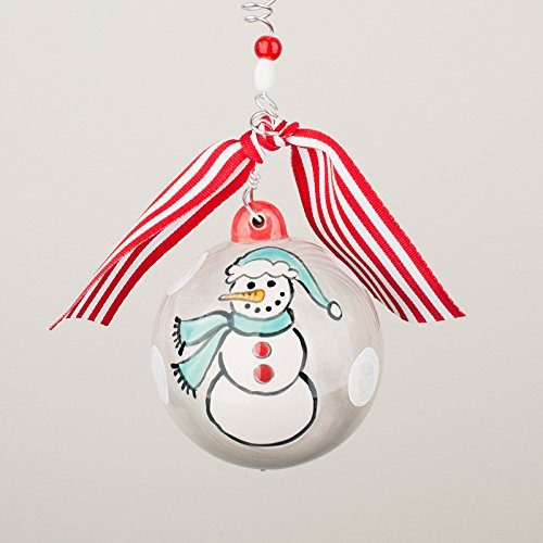 Glory Haus 2090106 Snowman Ball Chirstmas Ornament