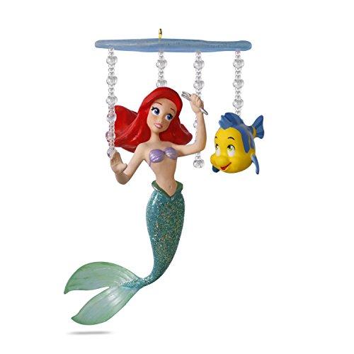 Hallmark Keepsake 2017 Disney The Little Mermaid Ariel's World Christmas Ornament