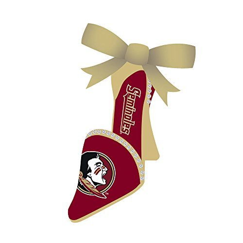 Florida State Seminoles Official NCAA 3 inch x 1.5 inch Team Shoe Ornament by Fans With Pride