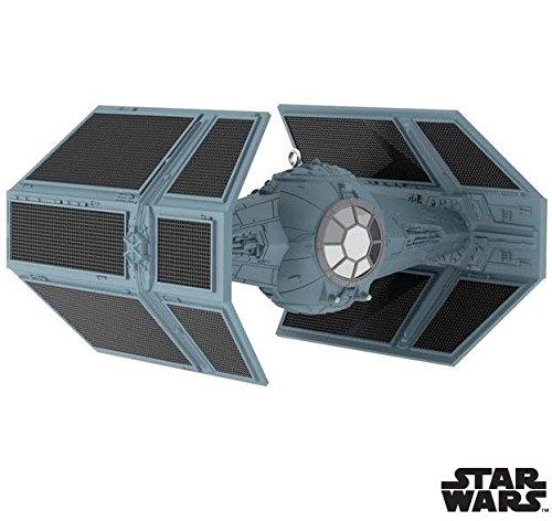 Hallmark Keepsake 2017 – Star Wars Darth Vader's TIE Fighter Sound Ornament With Light