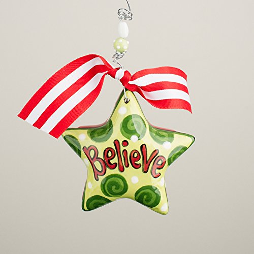 Glory Haus 2990125 Believe Star Puff Ornament