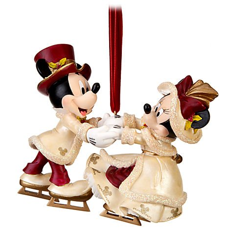 Disney Victorian Minnie and Mickey Mouse Christmas Ornament – Disney Theme Parks Exclusive & Limited Availability