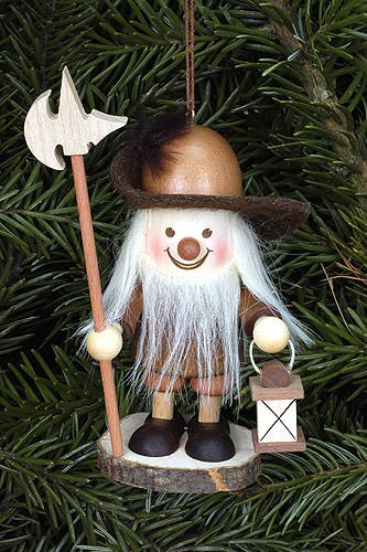 Tree ornaments Tree ornament Nightwatchman natural – 9,6cm / 4 inch – Christian Ulbricht