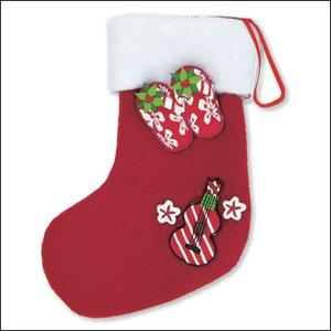 Ornament Fimo Stocking Slippahs