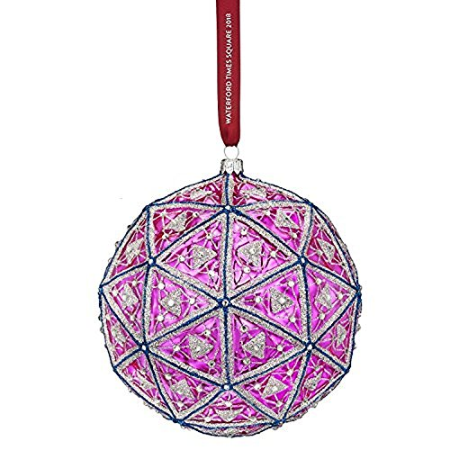 Waterford Crystal 2018 Times Square Gift of Serenity Masterpiece Ball Christmas Ornament – 6″W.