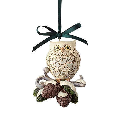 Jim Shore Heartwood Creek 6000676 Legend of Pinecone Ornament 2017
