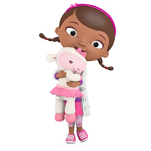 Hallmark Keepsake 2017 Disney Doc McStuffins Doc and Lambie Christmas Ornament