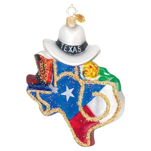 Christopher Radko Texas Pride Christmas Ornament – Exclusive