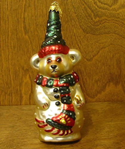 Boyds Bears Resin Olaf Ornament Christmas Snowman – Glass 6.50 IN by Boyds Ornaments