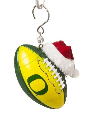 University of Oregon Ducks Football Christmas Ornament by Fans With Pride