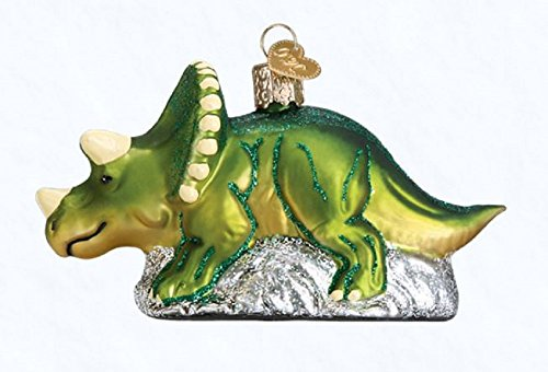 Old World Christmas Triceratops, 4.5″
