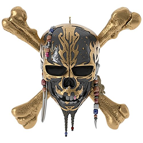 Hallmark Keepsake 2017 Pirates of the Caribbean Dead Men Tell No Tales Musical Christmas Ornament