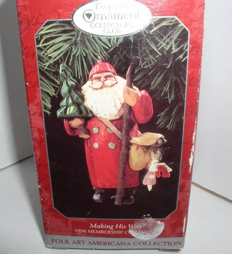 Making His Way 1998 Hallmark Ornament QXC4523