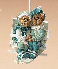 Bears on Ski Lift Ornament, Boyds Bears, 257421