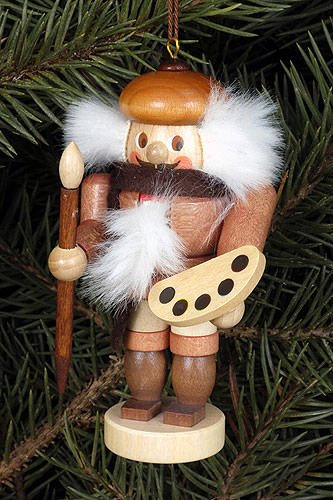 Tree ornaments Tree ornament Artisan natural – 9,5cm / 4 inch – Christian Ulbricht