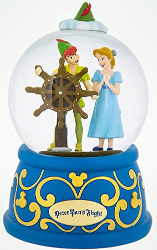 Disney Parks Peter Pan's Flight Snowglobe