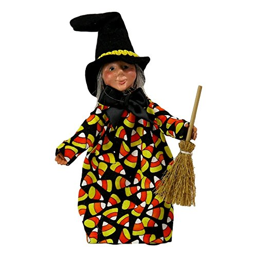Byers' Choice Spell Witch with Candy Corn Kindle #K515
