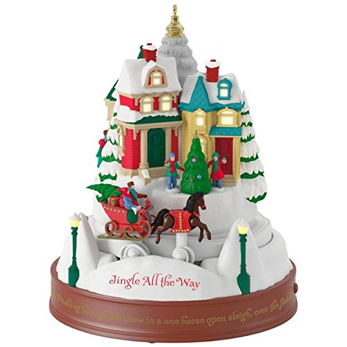 Hallmark Keepsake 2017 – Jingle All the Way Musical Ornament With Light and Motion