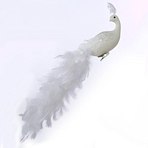 Kurt Adler 18″ Long Tail Feather Phoenix Clip Ornament #H6075
