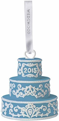 Wedgwood Our First 2015 Christmas Ornament, Blue by Wedgwood