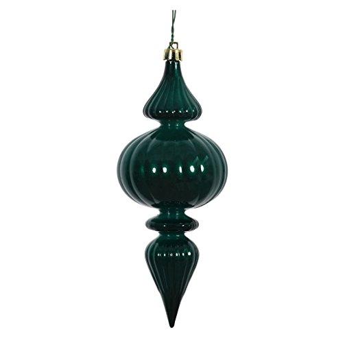 Vickerman 388327 – 7″ Teal Candy Finial Christmas Tree Ornament (6 pack) (N152142DCV)