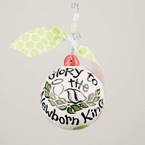 Glory Haus 2090108 Glory To The Newborn King Ball Ornament