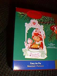 Strawberry Shortcake Ornament Easy As Pie Christmas Ornament