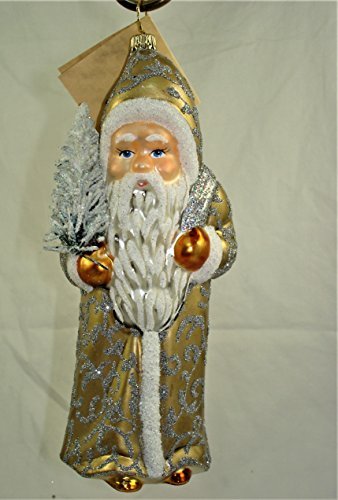 Tinsel Santa – Made by Ino Schaller