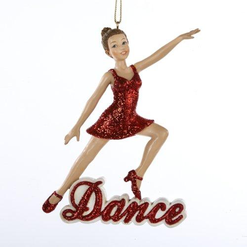 """Kurt Adler """"Dance"""" Girl Christmas Ornament"""