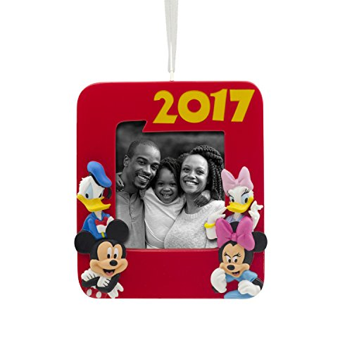 Hallmark Disney Mickey Mouse Photo Holder 2017 Christmas Ornament