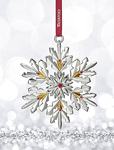 Waterford Annual Snowflake Ornament 4.3″