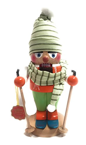 Steinbach Nutcraker Troll Skier 12 Inches Tall Kurt Adler Brand New Hand Made in Germany