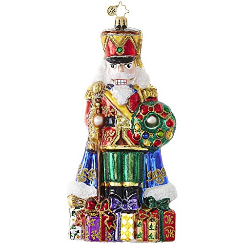 Christopher Radko Distinguished Nut Nutcracker Limited Edition Christmas Ornament
