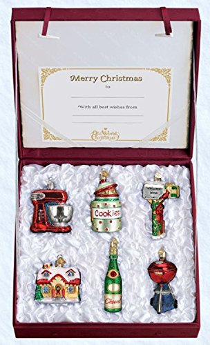 Old World Christmas Housewarming Collection Handcrafted Hanging Tree Ornament