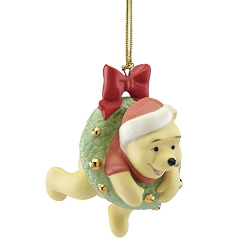 Lenox Annual China Ornaments 2017 Hanging Around with Pooh