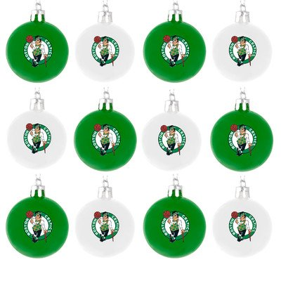 NBA Ball Ornament (Set of 12) NBA Team: Boston Celtics