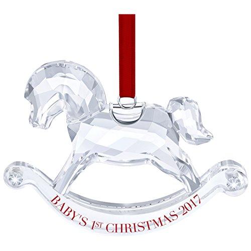 Swarovski Baby's 1st Christmas Ornament Annual Edition 2017
