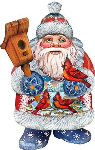 G. Debrekht Welcome Home Birdie Santa Deco Ornament