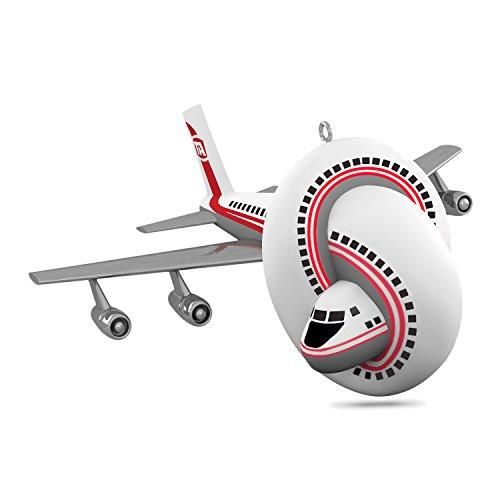 Hallmark Keepsake 2017 Airplane! the Movie Sound Christmas Ornament