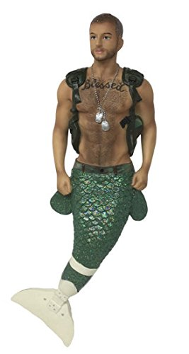 December Diamonds Merman Ornament – Hero (limited edition)
