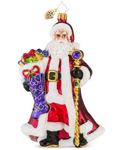 Christopher Radko Noble Nicholas Christmas Ornament